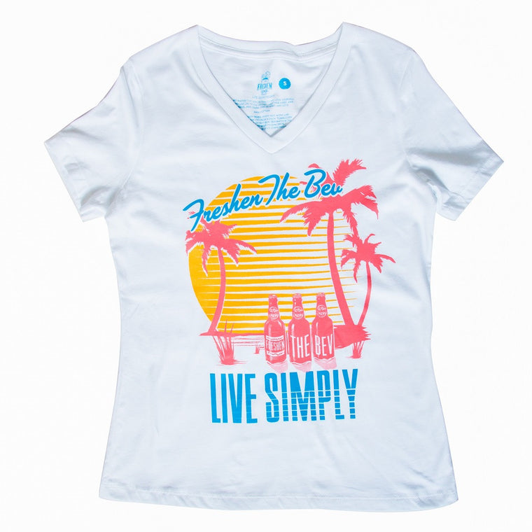 Women's Live Simply Relaxed Fit Tee