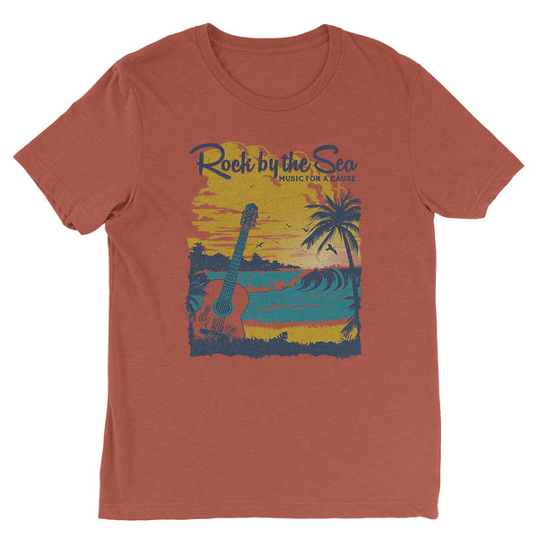 Rock by the Sea '18 Crew Neck Tee - Clay