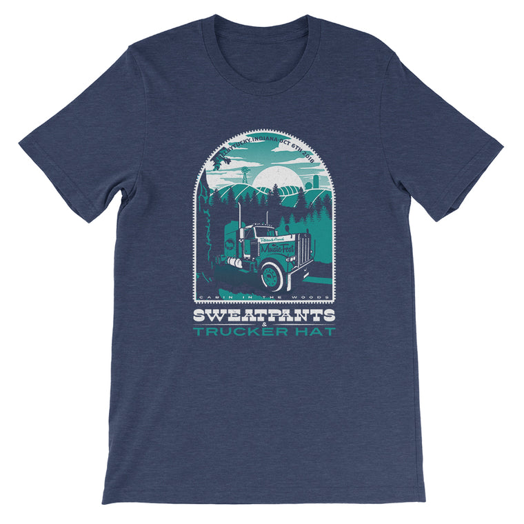 Sweatpants & Trucker Hat Music Festival '18 Unisex Tee