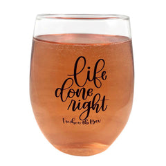 Freshen The Bev Stemless Wine Glass