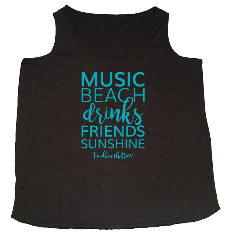 The Summer Shirt Curvy Flowy Tank Top