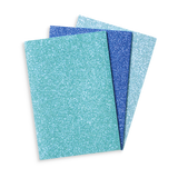 Glitter notebooks  - pack of three
