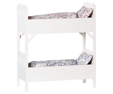 Off-White Bunk Beds (for mice)