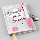 Lockable Diary with Scented Pen