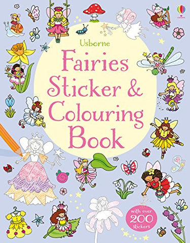 Fairies Stickers and Colouring