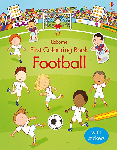 First Football Colouring Book