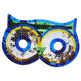 Sequinned Masks