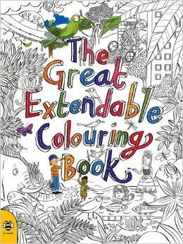 Great extendable colouring book