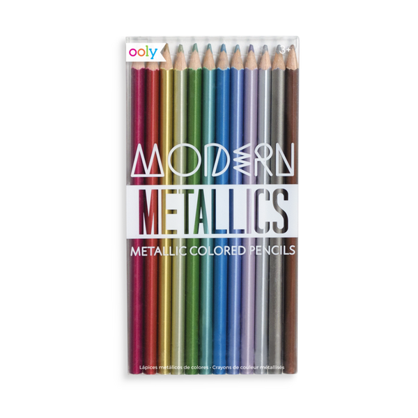 Modern Metallic Pencils