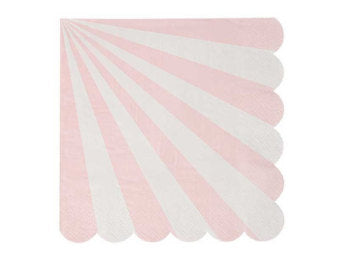 Toot Sweet Party Napkins Striped