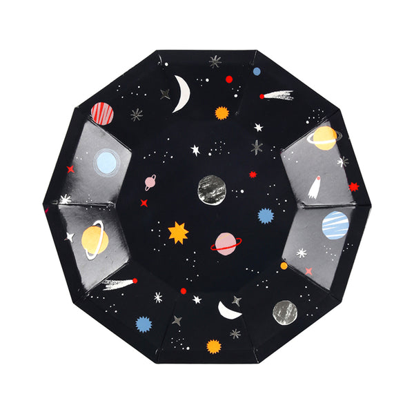 Space Party Plate