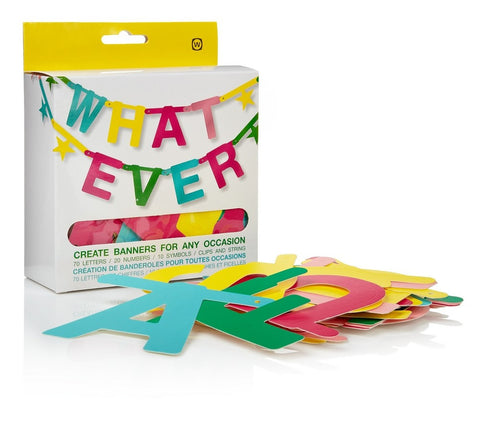 Whatever -DIY- Word Banner