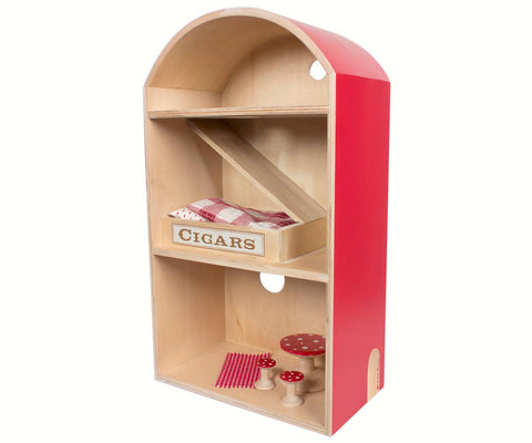 Wooden Mouse House incl bedlinen and furniture
