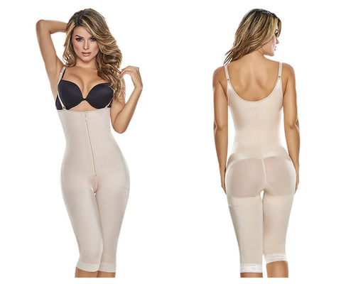 1222 Slimming Braless Body Shaper With Thighs Slimmer