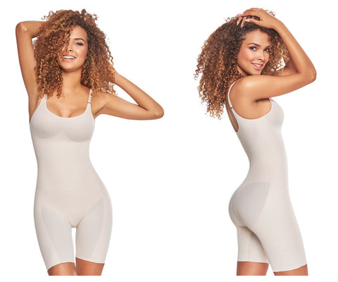 1278 Mid-Thigh Invisible Bodysuit Shaper Short