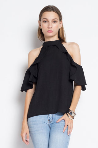 Iris Cold Shoulder Top