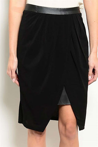 Ebony Wrap Skirt