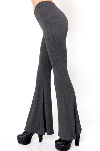 Graphite Bell Bottoms