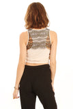 Lyrical Lace Cropped Top