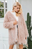 Socialite Faux Fur Coat