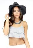 Dorothy Ruffled Crop Top