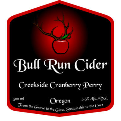 Bull Run Cranberry Perry 12/16.9oz.