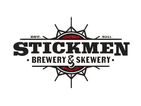 Stickmen Bananas on Fire 1/2 bbl