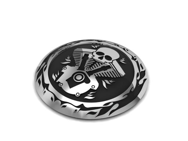 V-Twin Motorcycle Gas Cap