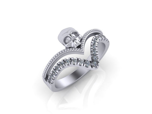 Double V Ring- UDINC0661