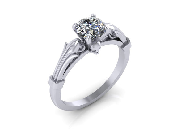 Skull Engagement Rings - Until Death, Inc