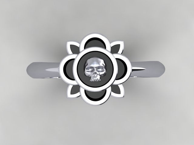 Irish Skull Ring-UDINC0426