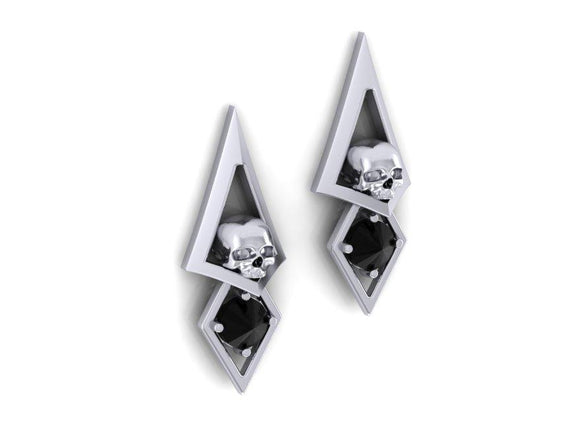 Triangle Dangle Earrings-UDINC0621