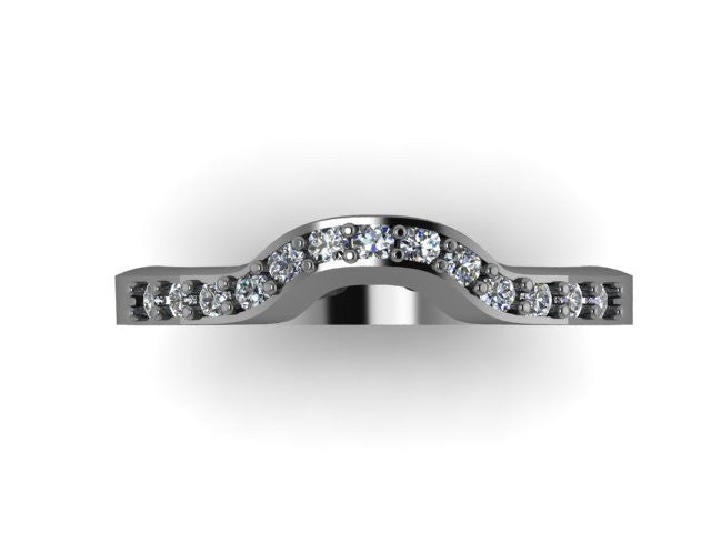Contour Wedding Band-UDINC0341WB