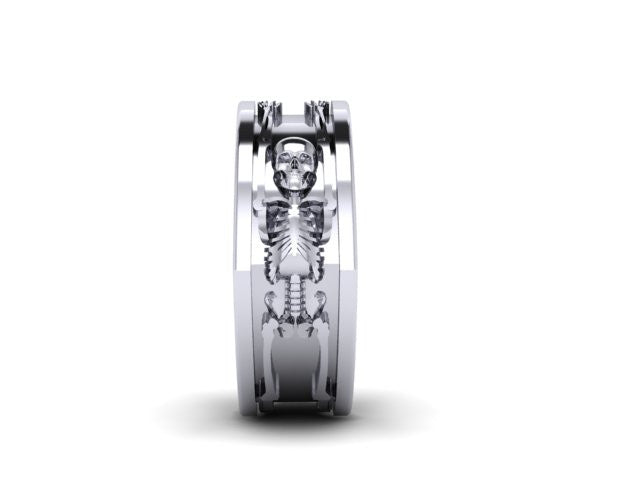 Full Bodied Skeleton Band-UDINC0563