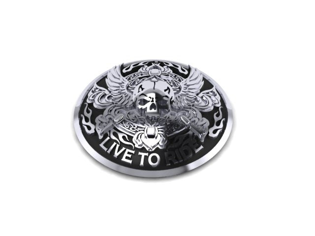 Live to Ride Motorcycle Gas Cap