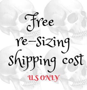 Re-sizing Shipping (U.S)