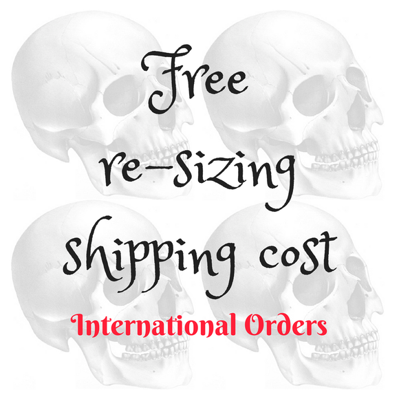 Re-sizing Shipping (International)