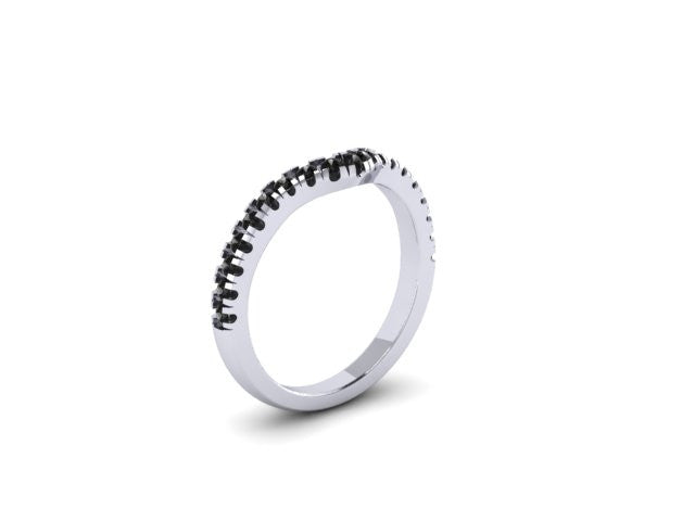 Contour Wedding Band-UDINC0537WB