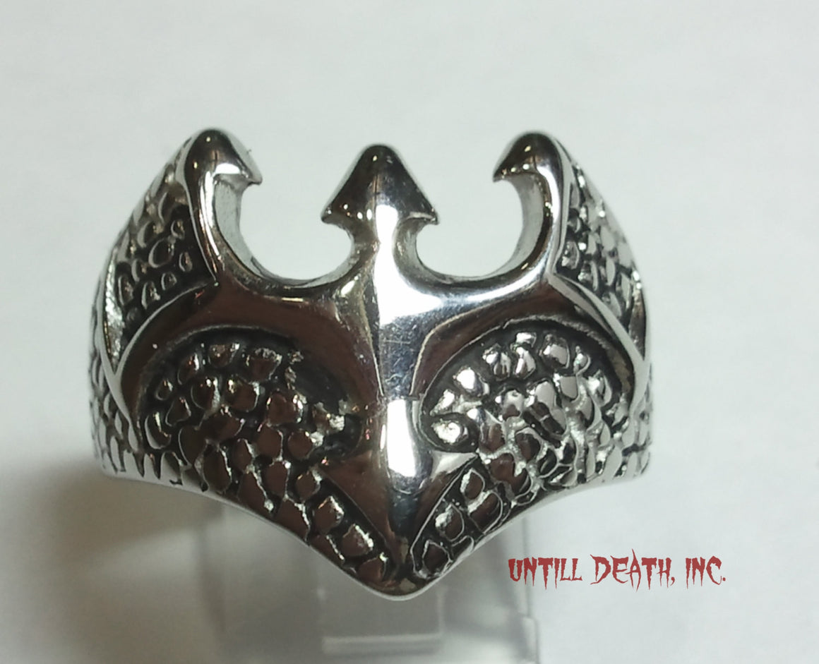 """Demon Bat"" Sterling Silver -UDINC0053"