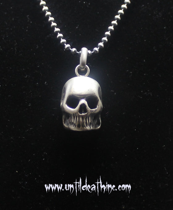 """Dead Head Skull."" in Sterling Silver -UDINC0113"