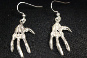 """Creepy Hands"" Dangle Earring Pair - UDINC0122"