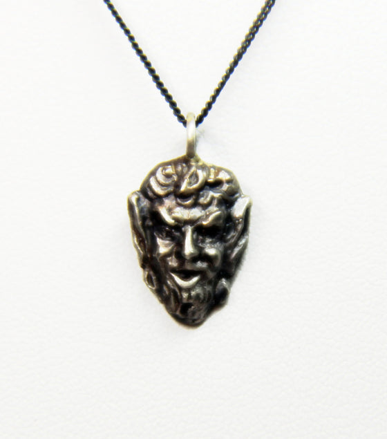 """Classic Devil Face"" in STERLING SILVER- UDINC0180"