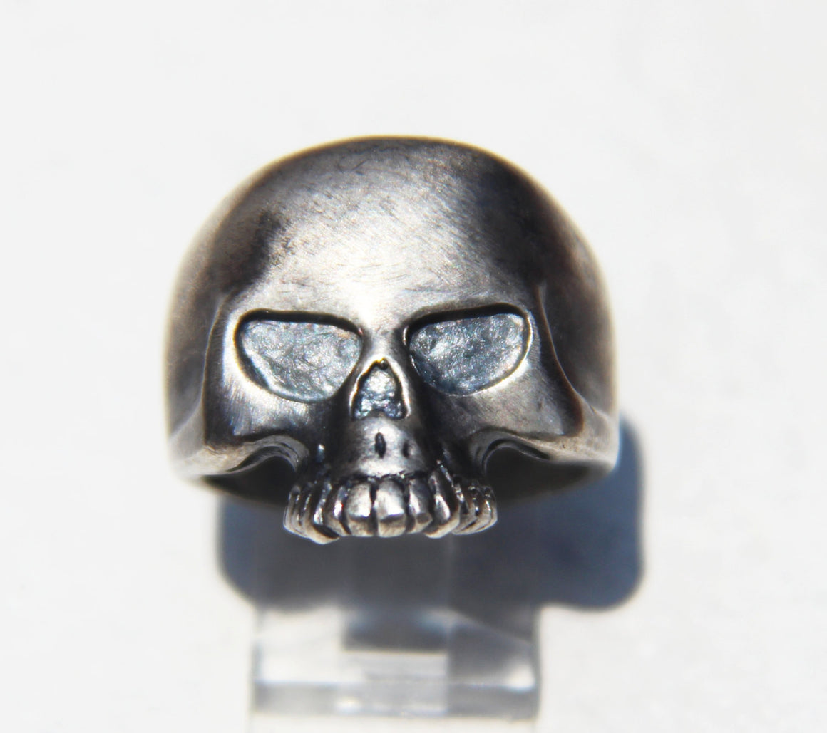 "UDINC0011 - Until Death, Inc. ""Punisher""  Skull Ring. Heavy 925 Sterling Silver. All US Sizes."