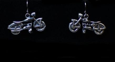 Motorcycle Earrings -UDINC0119