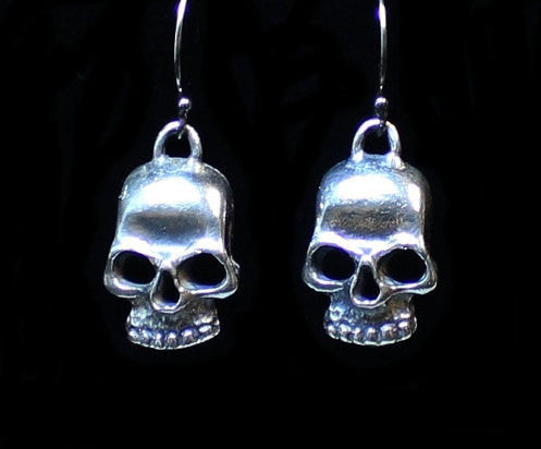 """Creepy Skull"" in STERLING SILVER- UDINC0129"