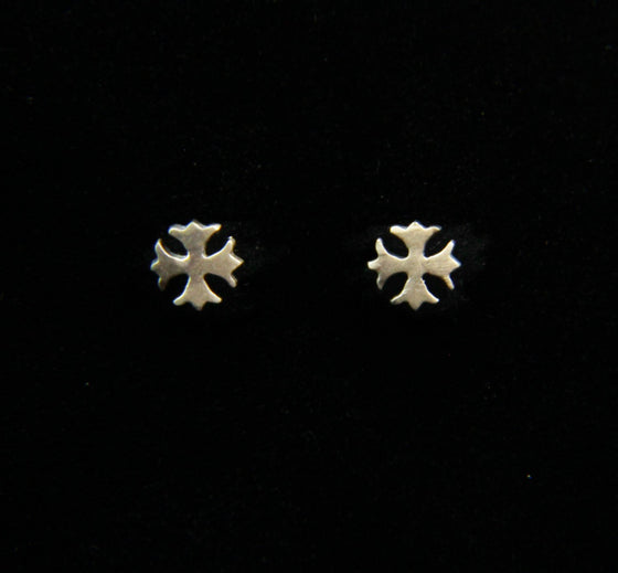"""Petite Maltese Crosses"" in STERLING SILVER"