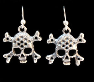"""Skull & Crossbones"" in STERLING SILVER- UDINC0120"