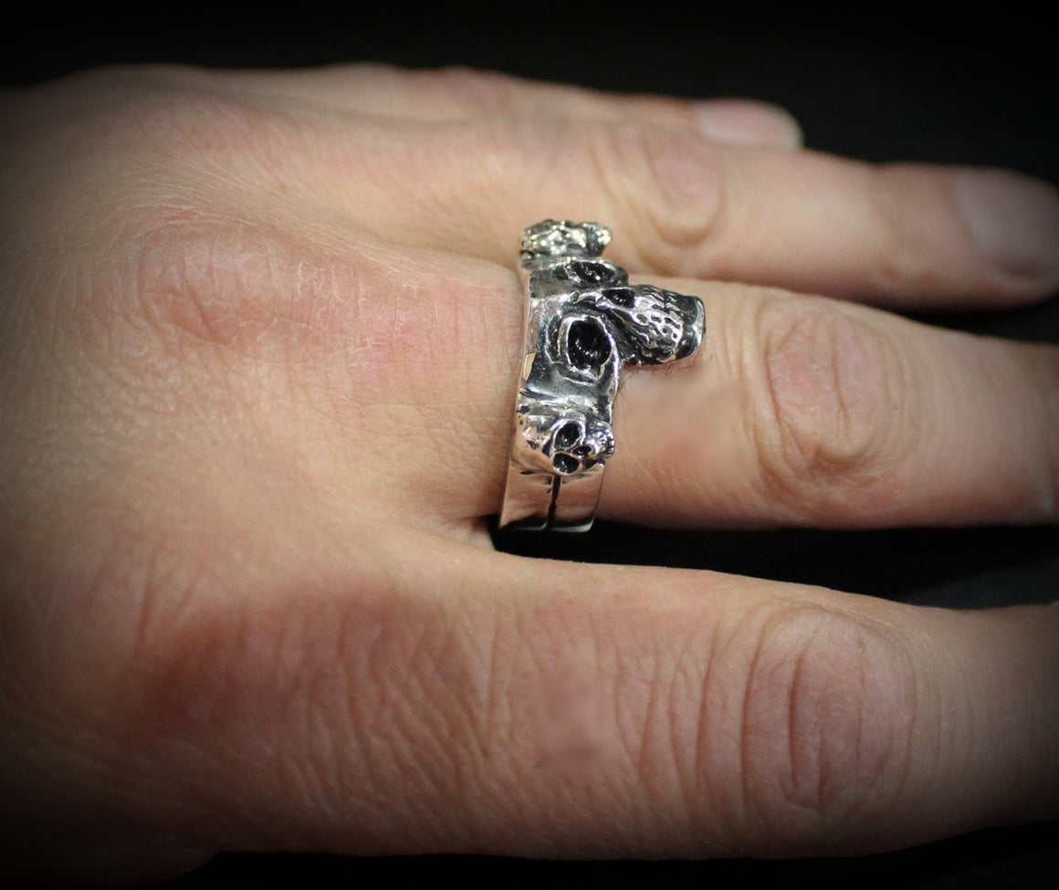 Samhain Ring in STERLING SILVER-UDINC0070