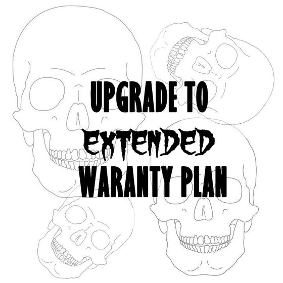 Upgrade to an Extended Warranty Plan