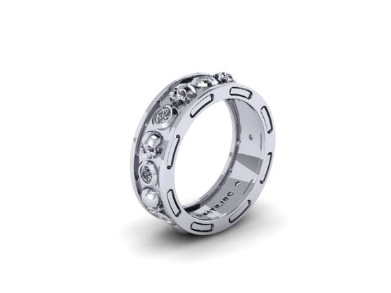 Gothic Wedding Rings.Men S Skull Wedding Bands Gothic Wedding Rings For Men Until
